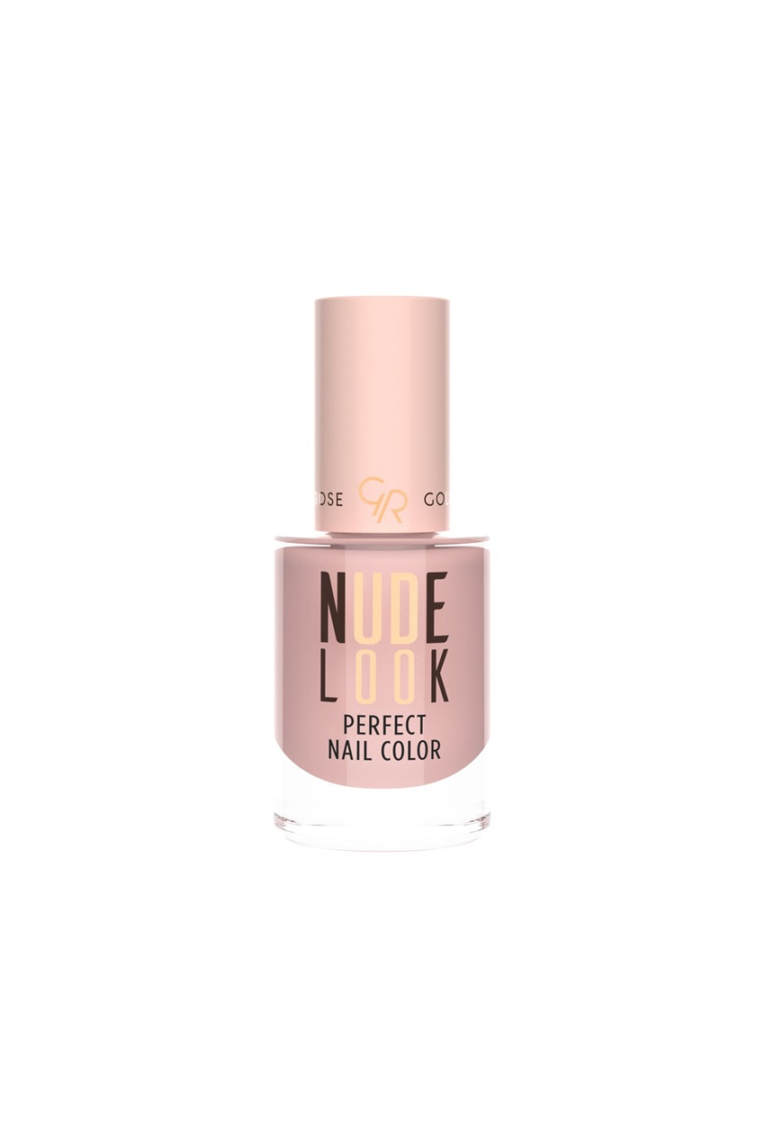 Mix Golden Rose Nude Look Perfect Nail Color No:02 Pinky Nude