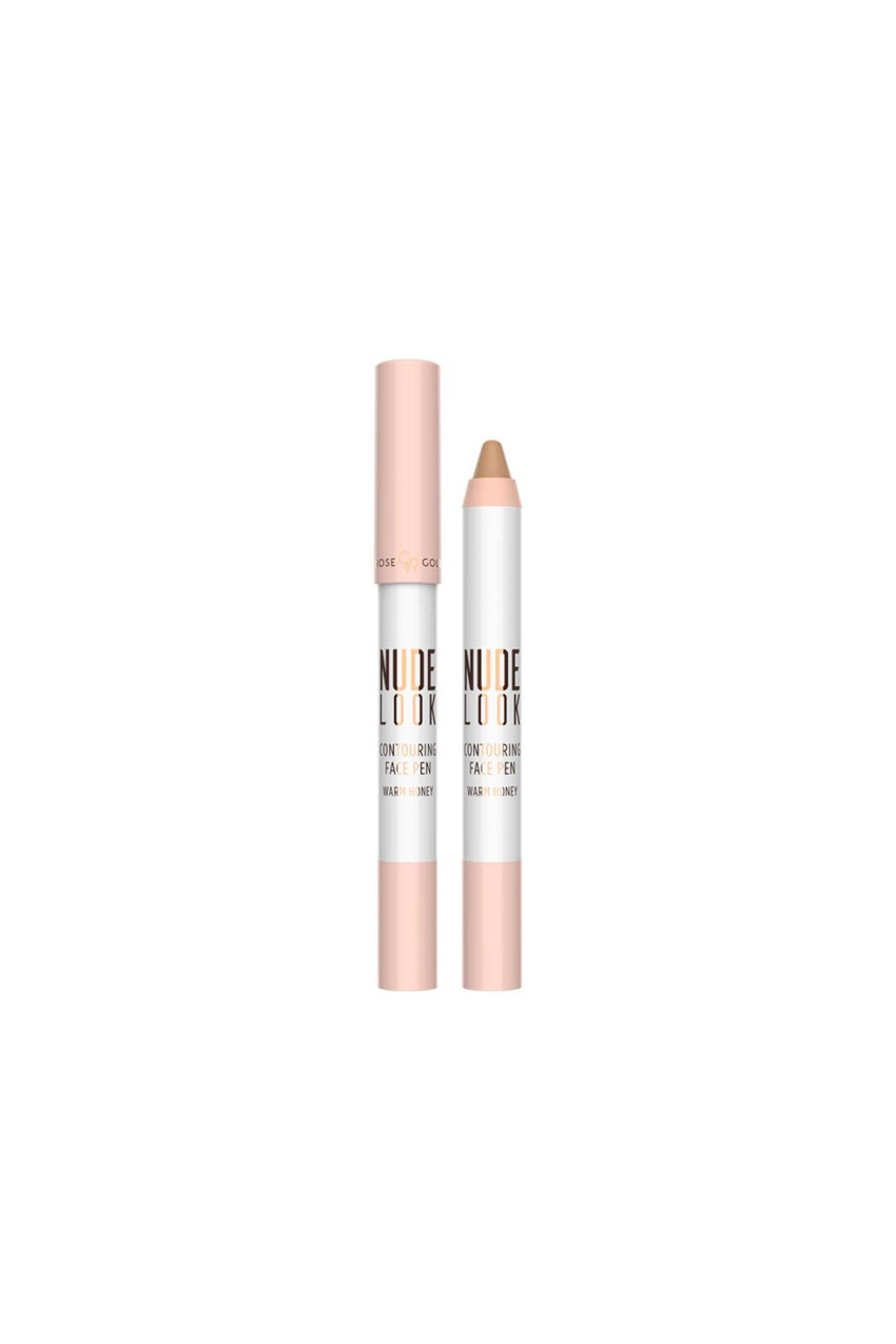 Mix Golden Rose Nude Look Contouring Face Pen-Warm Honey