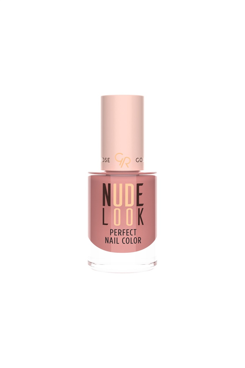 Mix Golden Rose Nude Look Perfect Nail Color No:04 Coral Nude